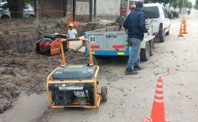 Durante el 2018 Aguas de Formosa continuó las obras de renovación y rehabilitación de las redes cloacales domiciliarias
