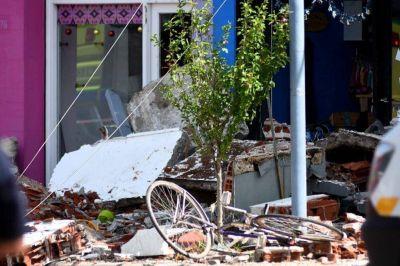 Tras el derrumbe en Mogotes, ordenarán que se analice la estructura de los edificios