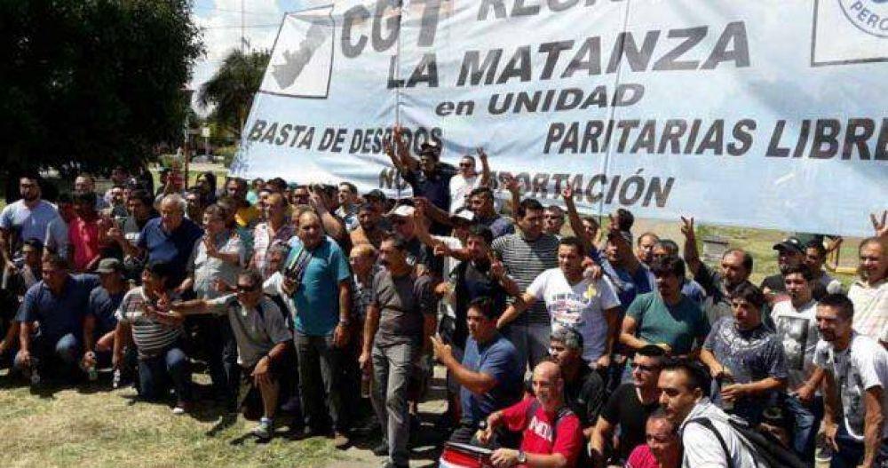 """La CGT La Matanza rechazó """"el nuevo y feroz tarifazo"""""""