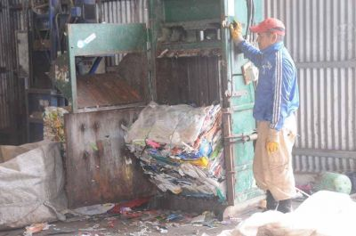 Relleno sanitario: creció 31 % la tasa de reciclaje de residuos