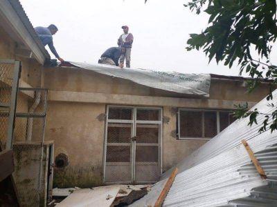 Suspenden atención en el CIC del Barrio Boca por los daños sufridos por el temporal
