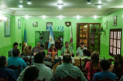 Con guiño a Jalil, asumieron formalmente las autoridades de las 62 organizaciones