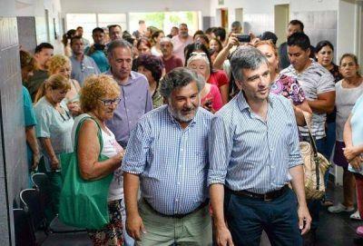 Zabaleta reinauguró el Centro de Salud Comunitario