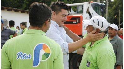 Asumió Gamboa y visitó a trabajadores municipales