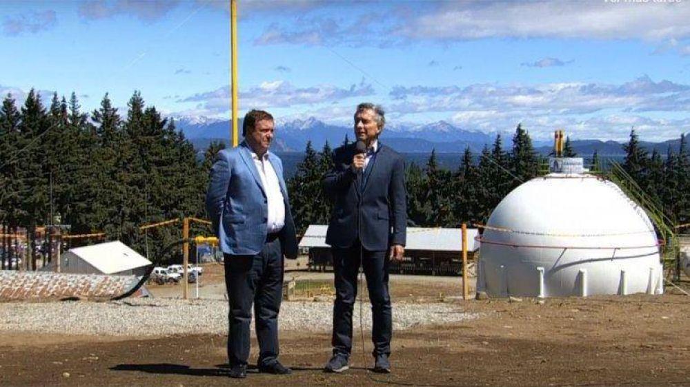 Macri inauguró el gasoducto patagónico y destacó el rol de Vaca Muerta