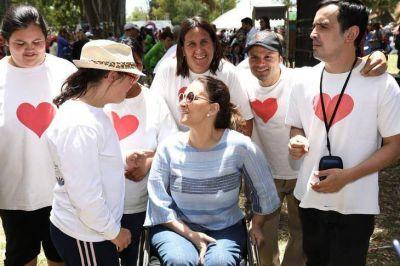 Michetti busca instalarse como candidata a vicepresidenta