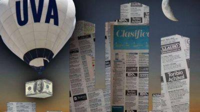 Cuotas de hipotecarios UVA treparon casi 50% en un año
