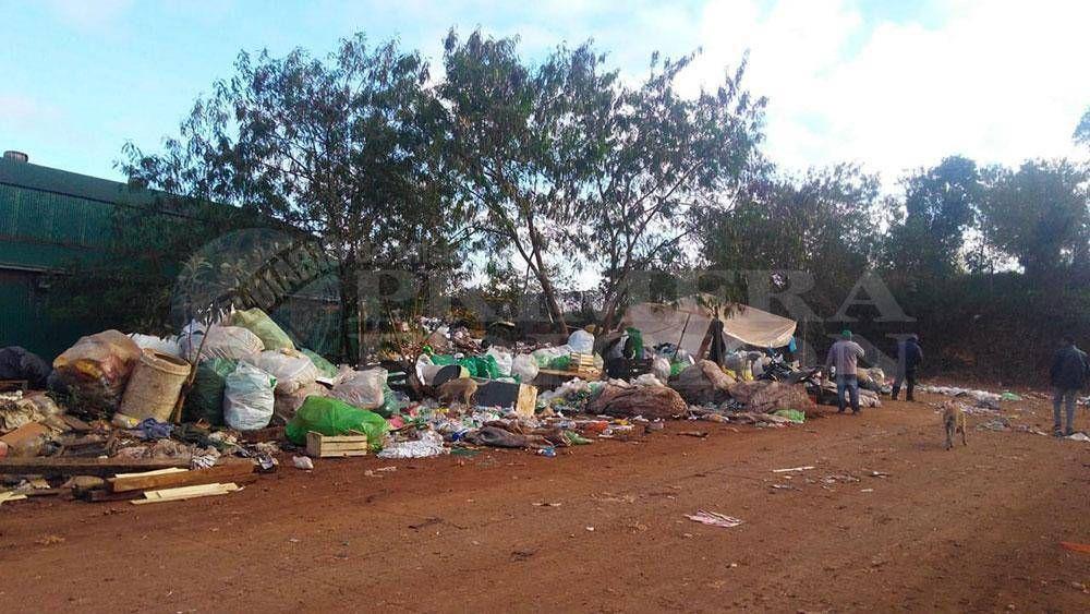 La planta de transferencia de basura de Iguazú no da abasto