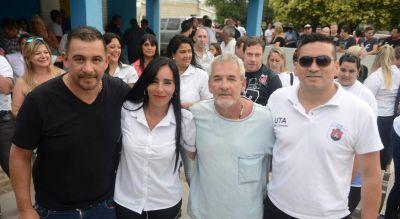 Carla Esteban ya maneja la UTA, el gremio de los choferes