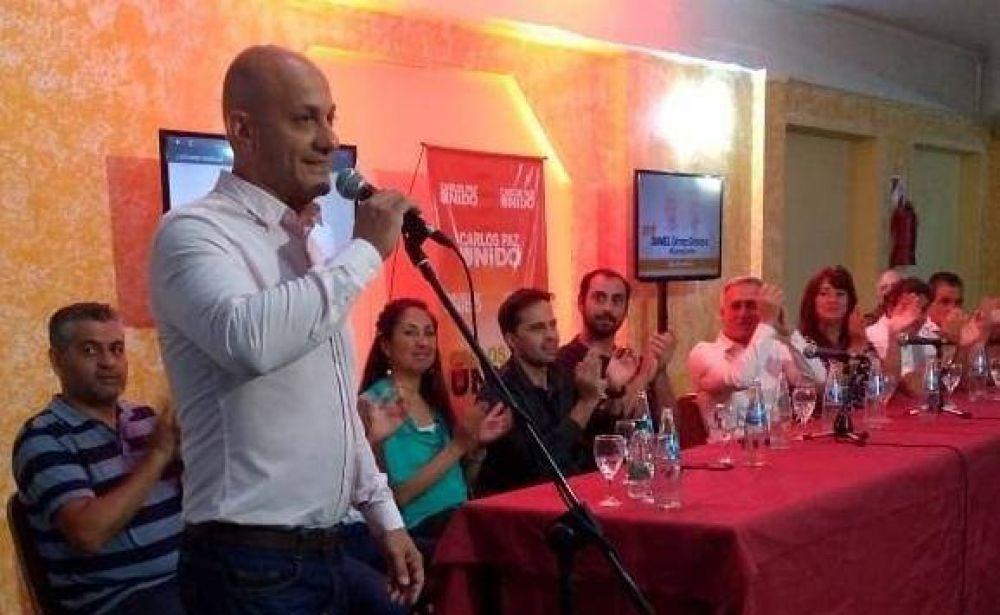 Gómez Gesteira lanzó su candidatura a intendente