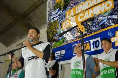CTA Entre Ríos convoca a las medidas de fuerza contra el tarifazo
