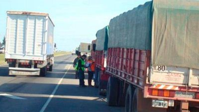 Transportar mercadería en camiones aumentó casi un 62% en 2018