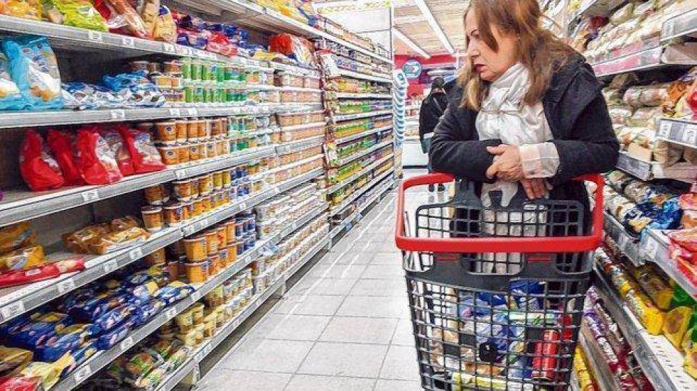 La suba de alimentos y bebidas superó el 50% en 2018
