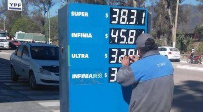 YPF baja el precio de los combustibles y Argentina queda entre los países más baratos de la región