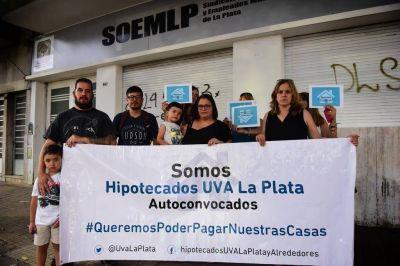 Aumenta la preocupación de deudores de préstamos hipotecarios UVA en La Plata