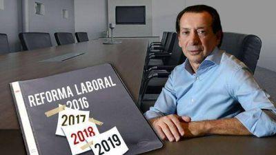 Reformal laboral: el Gobierno apura la marcha por Brasil y FMI