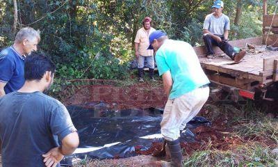 Para solucionar falta de agua potable recurren a los reservorios