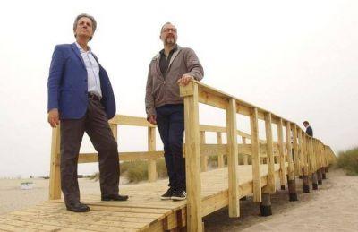 Martín Merlini construye el nuevo Paseo Turistico Integrador del Puerto
