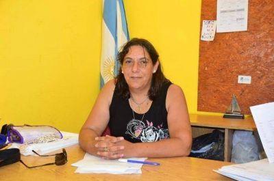Andrea Turconi la nueva secretaria de gobierno de Lavalle