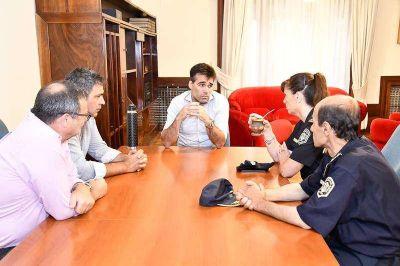 López y la nueva jefa de la Departamental se comprometieron a un trabajo en conjunto