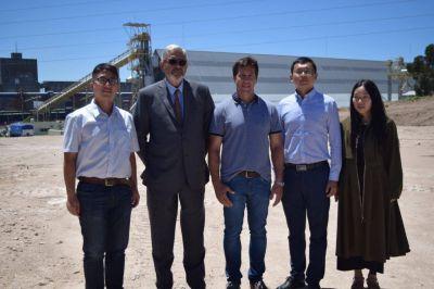 Rojas se refirió a la transformación de Puerto Quequén para la renovación energética