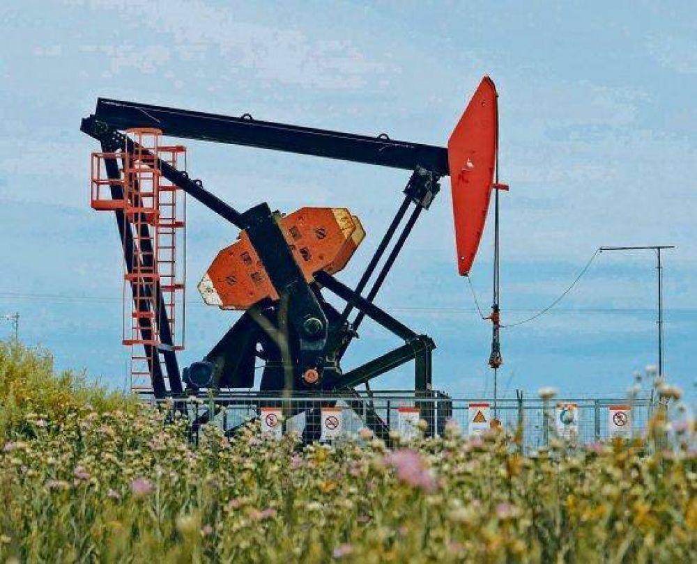Producción de petróleo y gas avanzó muy poco en 2018