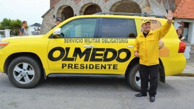 Olmedo lanzó su campaña presidencial en Mar del Plata: entre militares, Dios y la Iglesia