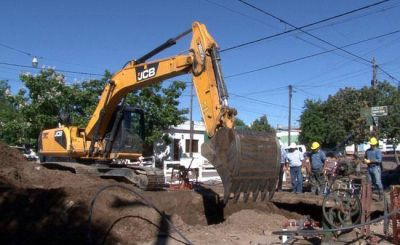 Realizarán mejoras en la red de agua y cloacas en General Pico