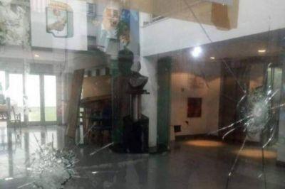 EL PJ bonaerense denunció un nuevo atentado con armas de fuego en su sede de la ciudad de La Plata