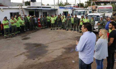 """Miguel Gamboa: """"Para nosotros es importante que los empleados municipales estén contenidos"""""""