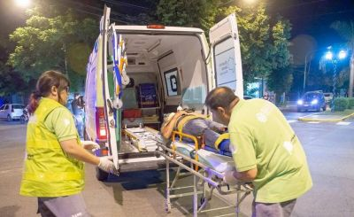 En los primeros 7 días del año, el SAME atendió 100 emergencias en la ciudadI