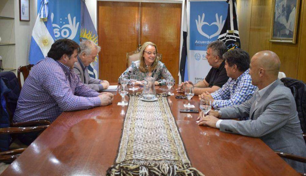 Luz y Fuerza de la Patagonia se reunió con Alicia Kirchner