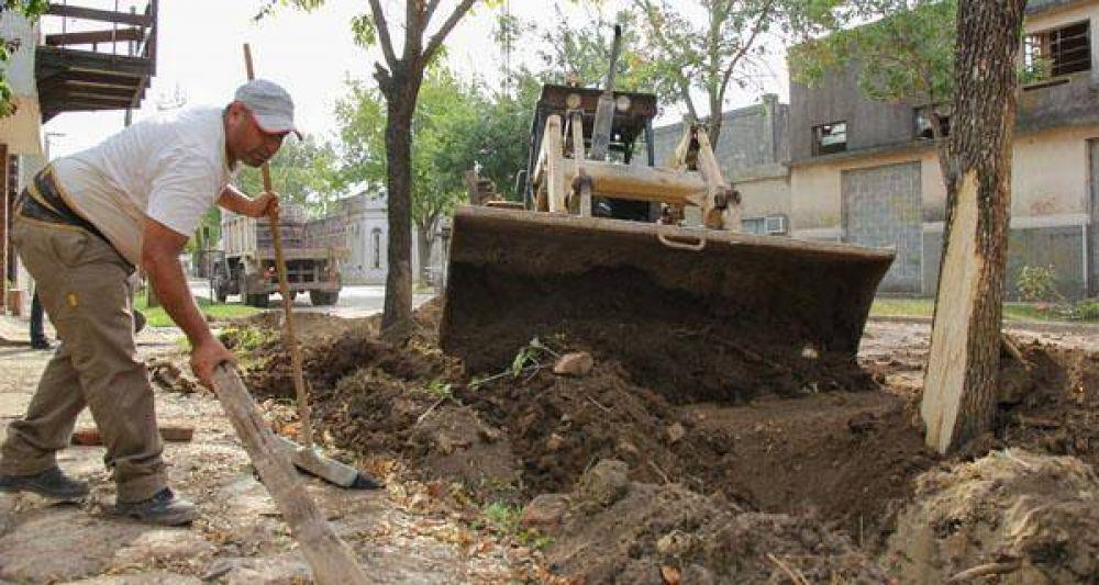 Fuerte inversión en obras de agua y saneamiento en el depto. Castellanos