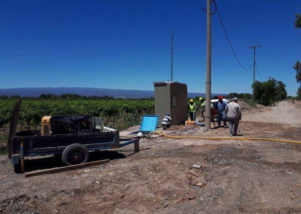 Habilitarán parte del acueducto Vallecito para llevar agua a 5 barrios de Caucete