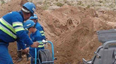 Paz Posse y Salva inspeccionaron la última etapa del Acueducto El Acay