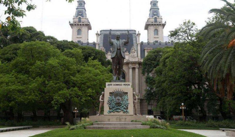 Larreta y De Andreis inauguraron la plaza Juan Domingo Perón