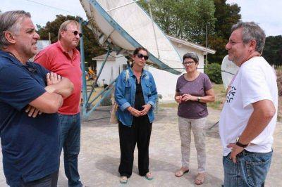Ediles de Cambiemos visitaron Claromecó
