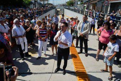 El intendente Andrés Watson inauguró el bajovías en Zeballos