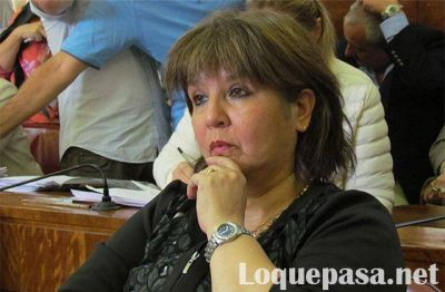 Cristina Coria pidió la renuncia de Hernán Mourelle