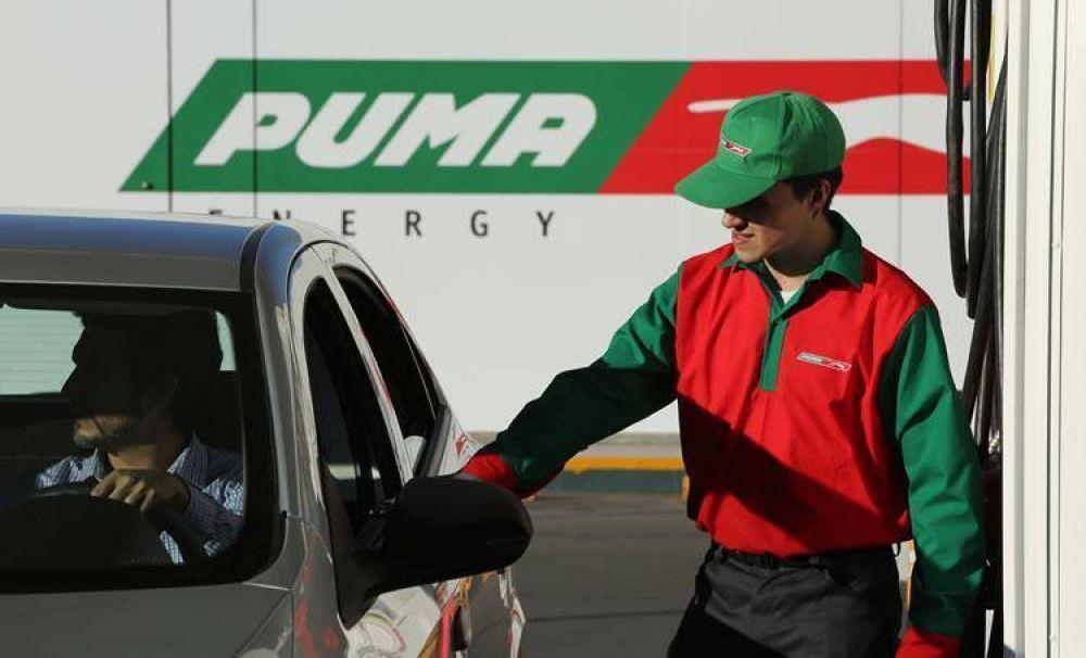 Puma Energy bajó los precios por debajo de la competencia y se lanza de lleno a la conquista del mercado