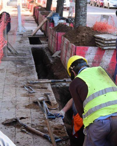 Recambio de la red de agua potable en Ayacucho