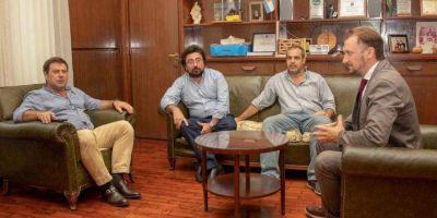 El Intendente Canosa recibió al Fiscal Dr. Lucas Moyano