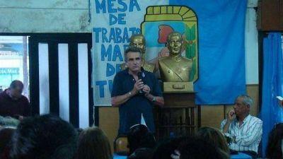 """Rossi en Mar del Tuyú: """"Si la oposición se une puede ganar en primera vuelta"""""""