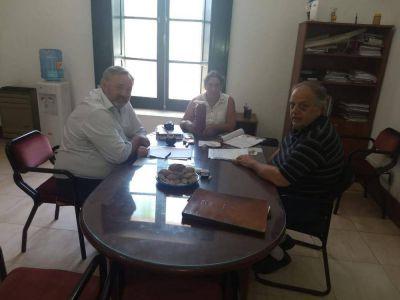 El Intendente José Rodríguez Ponte recibió al Ministro de Gobierno Joaquín De La Torre