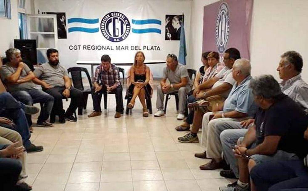Respaldo de la CGT Regional a ceramistas y camioneros por conflicto en Palmar