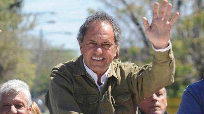 Daniel Scioli evita responderle a Berger y mantiene su estrategia electoral