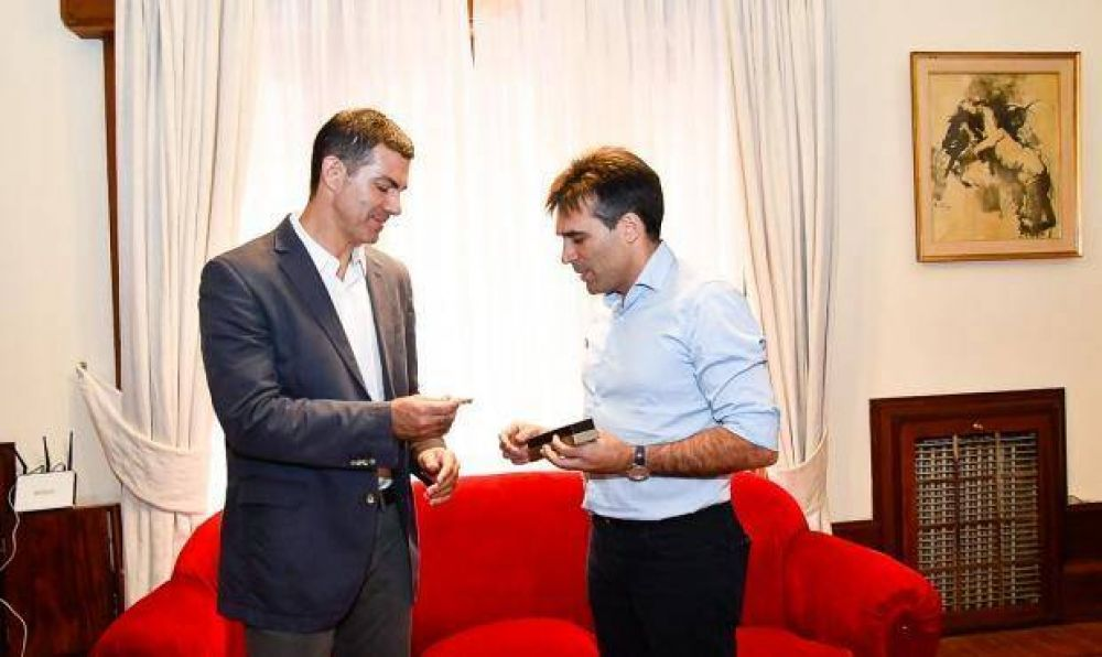 """Guiño electoral de Urtubey a López: """"visitar al Intendente referente de nuestro espacio político es una alegría para mí"""""""
