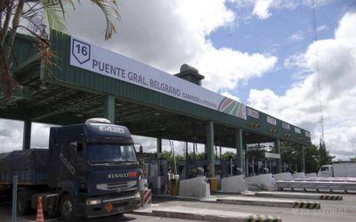 Puente: cámaras leerán patentes de transporte de carga