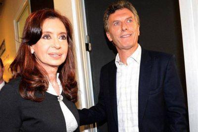Macri y Cristina se acercan peligrosamente