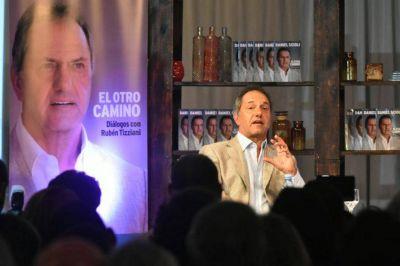 """Scioli llamó a la unidad de la oposición: """"La que tiene que ganar es la Argentina"""""""